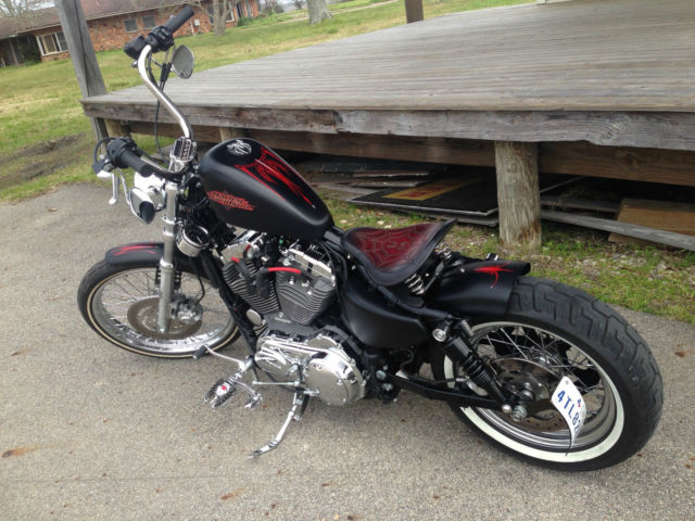2012 Harley Davidson Seventy Two Bobber
