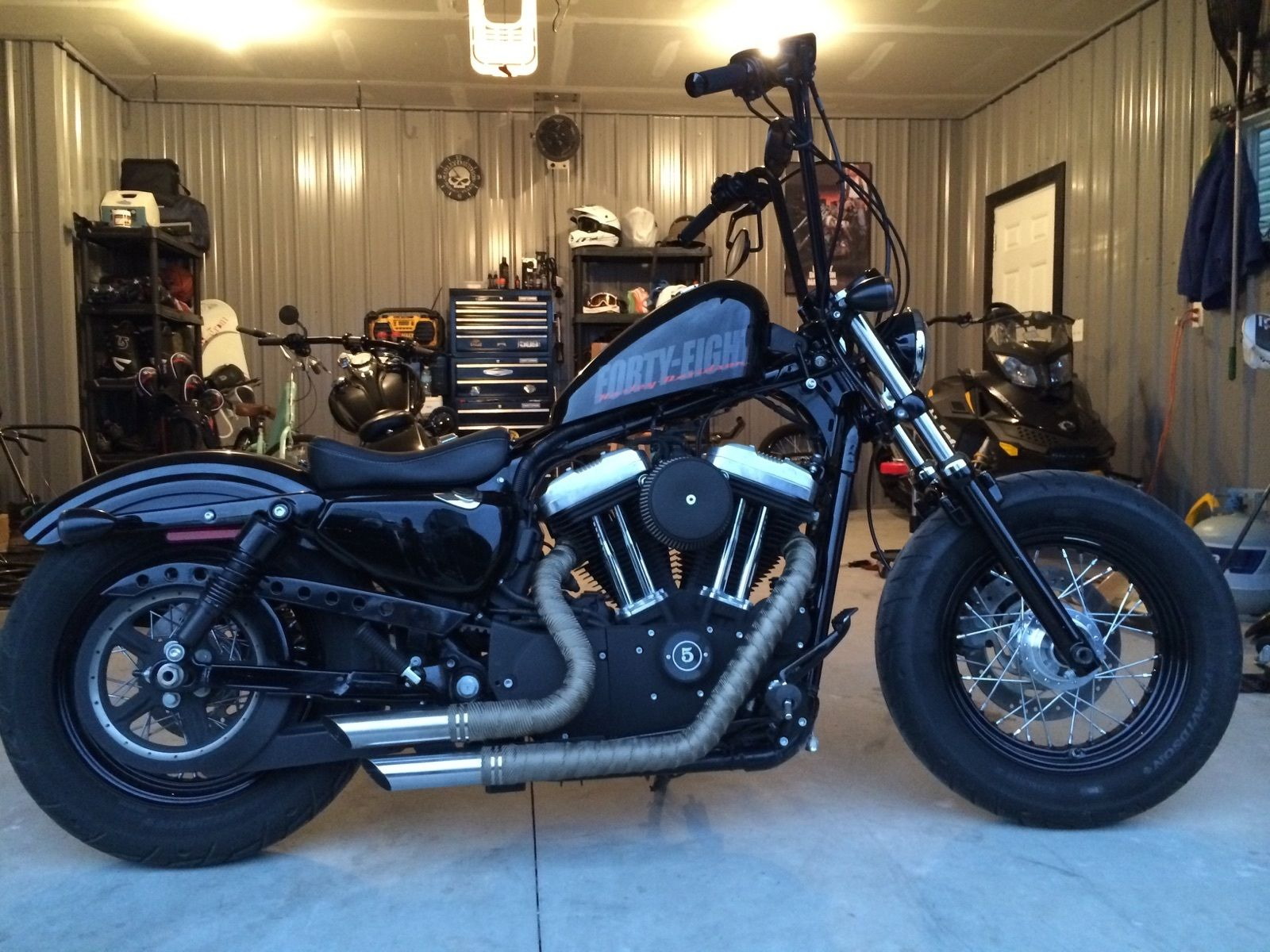 2012 Harley Davidson Sportster 48
