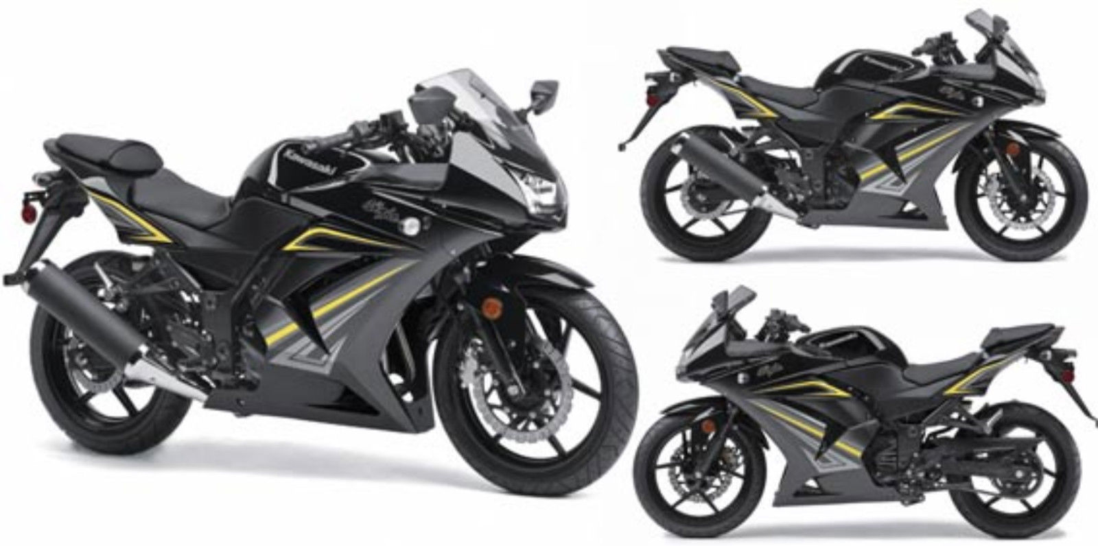 2012 Kawasaki Ninja 250r Ex250jcfa Motorcycle Black