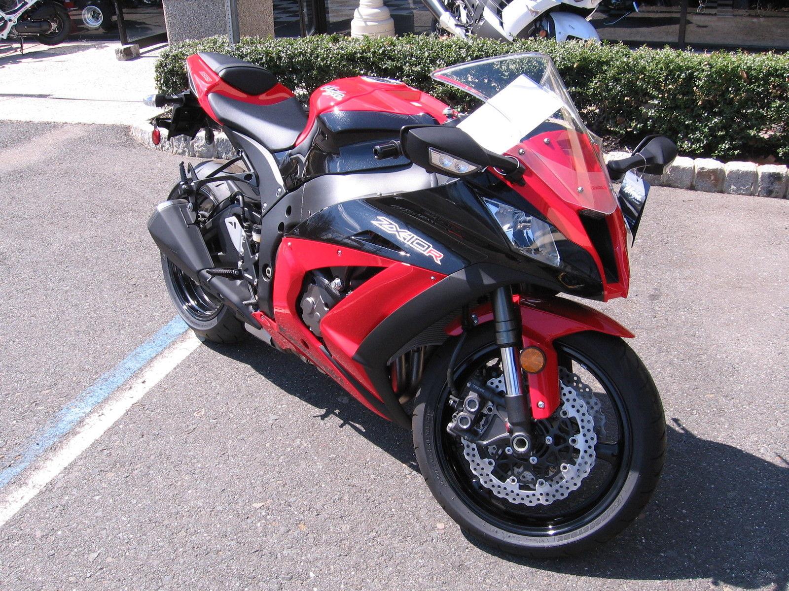 2012 Kawasaki Ninja Zx10r Redblack Zx 10 Zx 10r