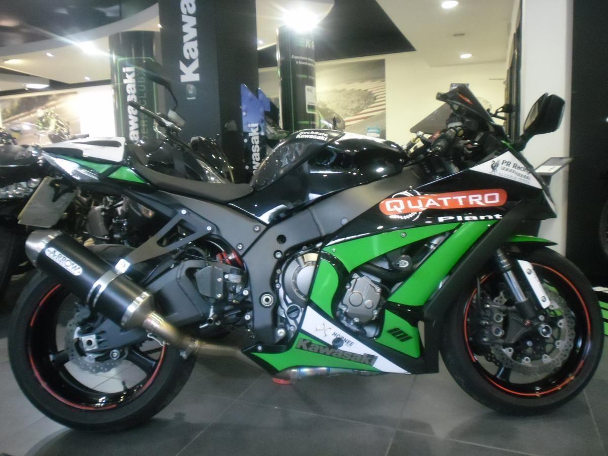 2012 Kawasaki Zx10 Race Replica Arrow Exhaust And More