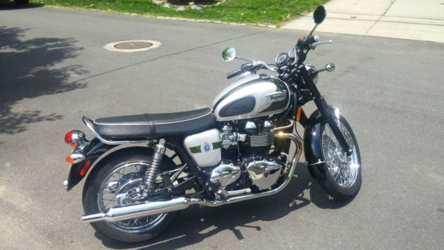 2012 Triumph Bonneville T100 110th Anniversary Edition Only 156