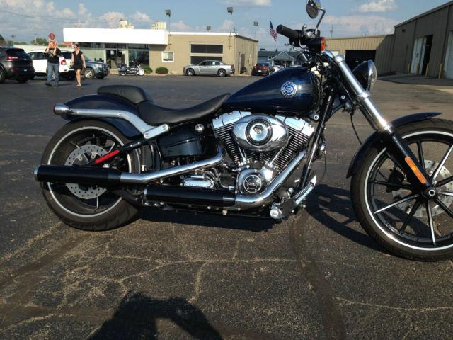 Battle Creek Harley Davidson >> 2013 Harley Davidson Breakout Big Blue Pearl