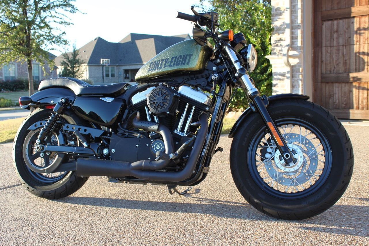 2013 Harley Davidson XL 1200 X Sportster 48 - Candy Gold Flake - 3.3 ...