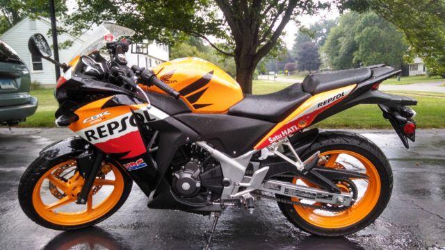 2013 Honda Cbr 250r Repsol Special Edition Moto Gp Street Bike Hrc
