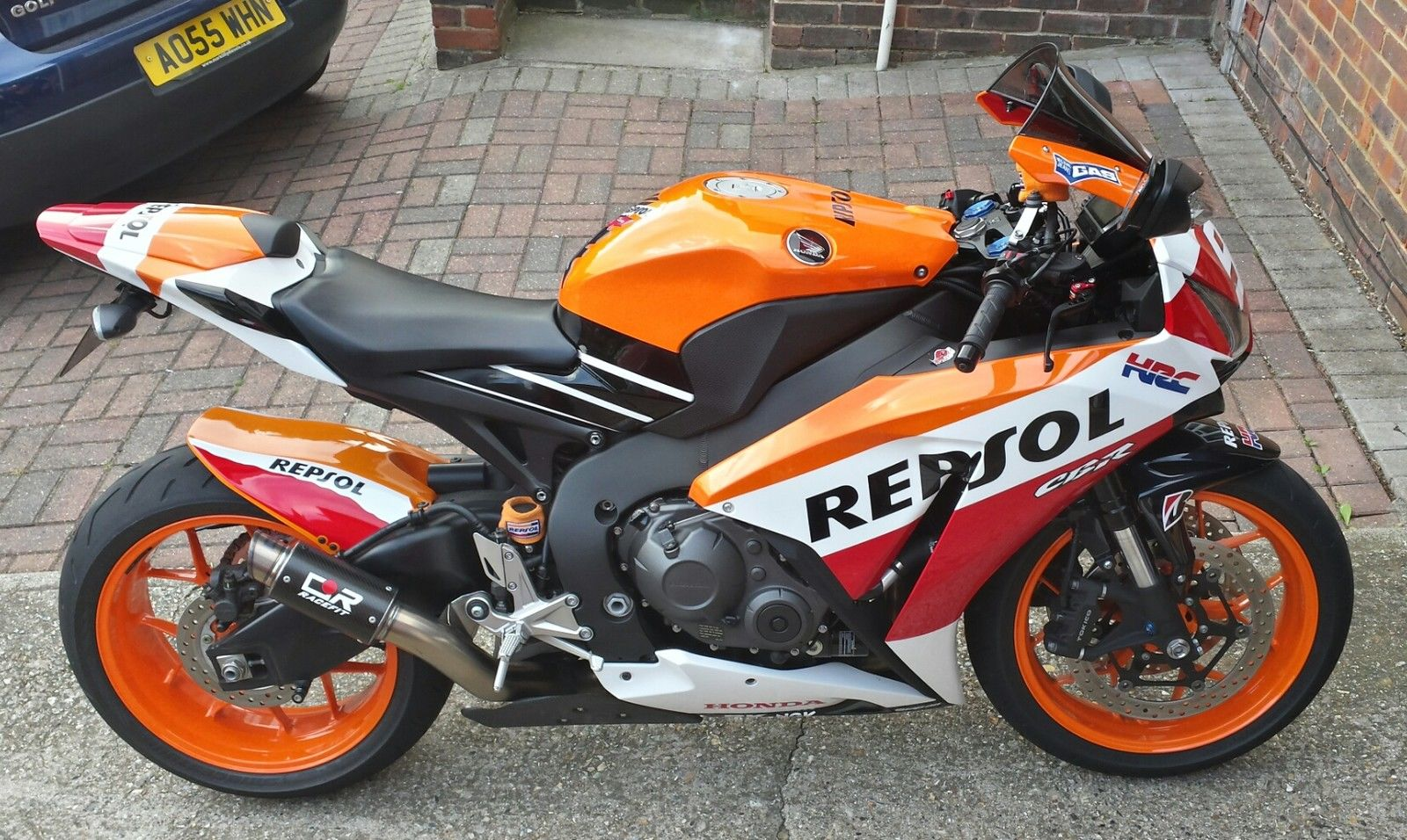2013 honda cbr1000rr fireblade repsol honda marquez replica 93 3867 miles. Black Bedroom Furniture Sets. Home Design Ideas