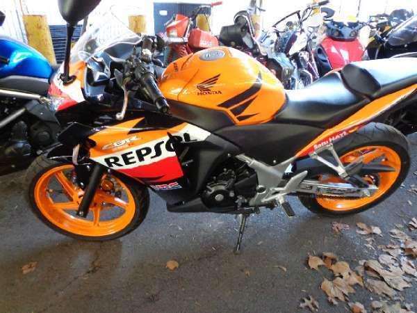 2013 Honda Cbr250r 6 Spd Sportbike Repsol Edition Wexhaust Low