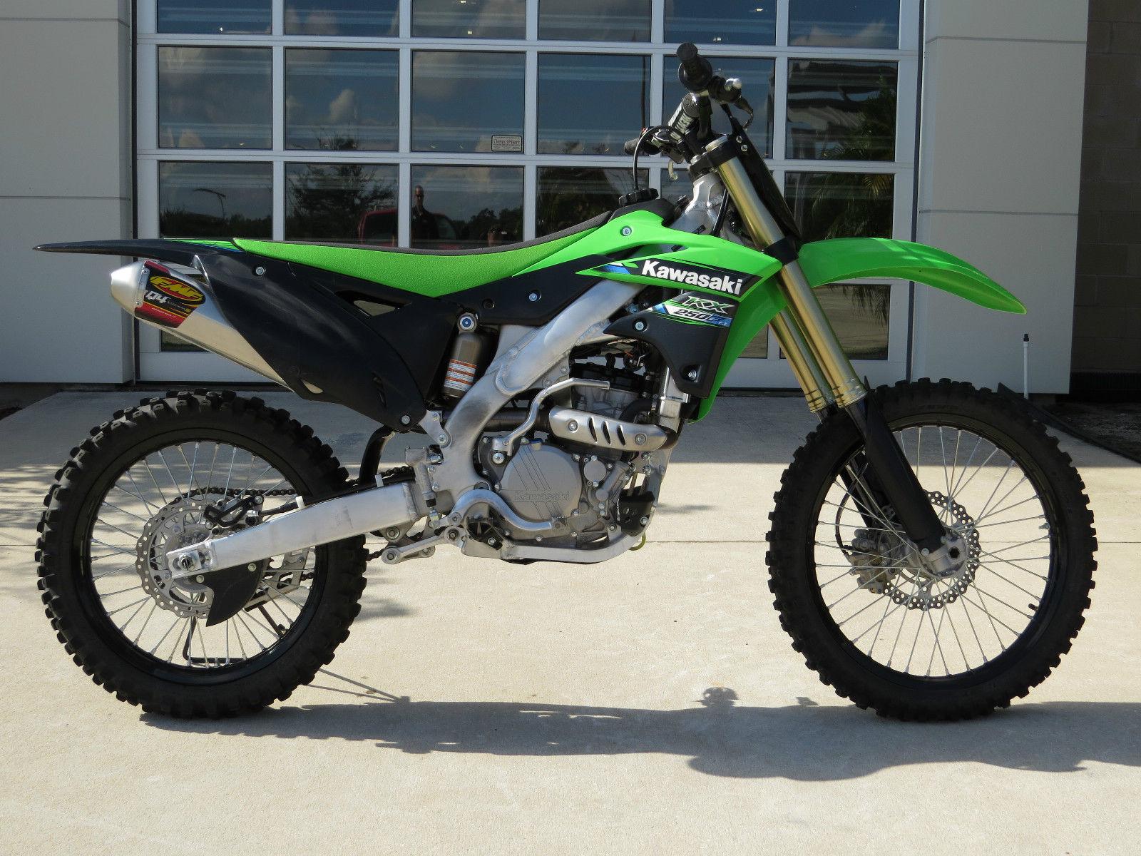Kawasaki Dirt Bike Values