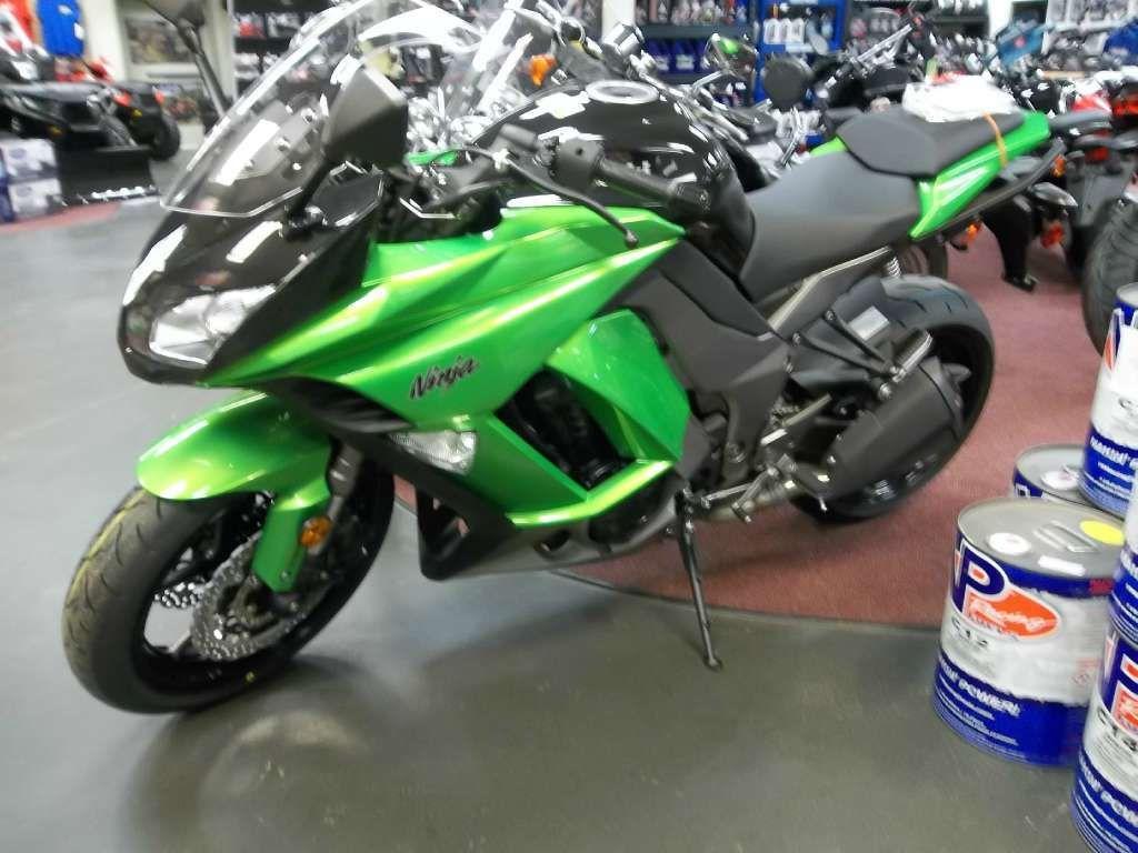 2013 Kawasaki Ninja 1000 Abs Green Or White Motorcycle Sport Bike No