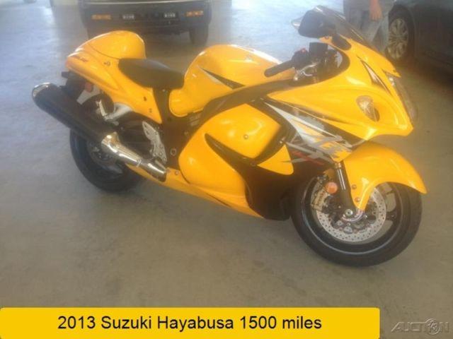 2013 Suzuki Hayabusa 1340 Limited Edition Motorcycle Used ...  2013 Suzuki Hay...