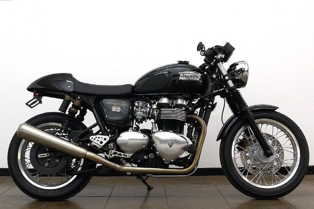 2013 triumph thruxton 900 modified many extras upgrades. Black Bedroom Furniture Sets. Home Design Ideas
