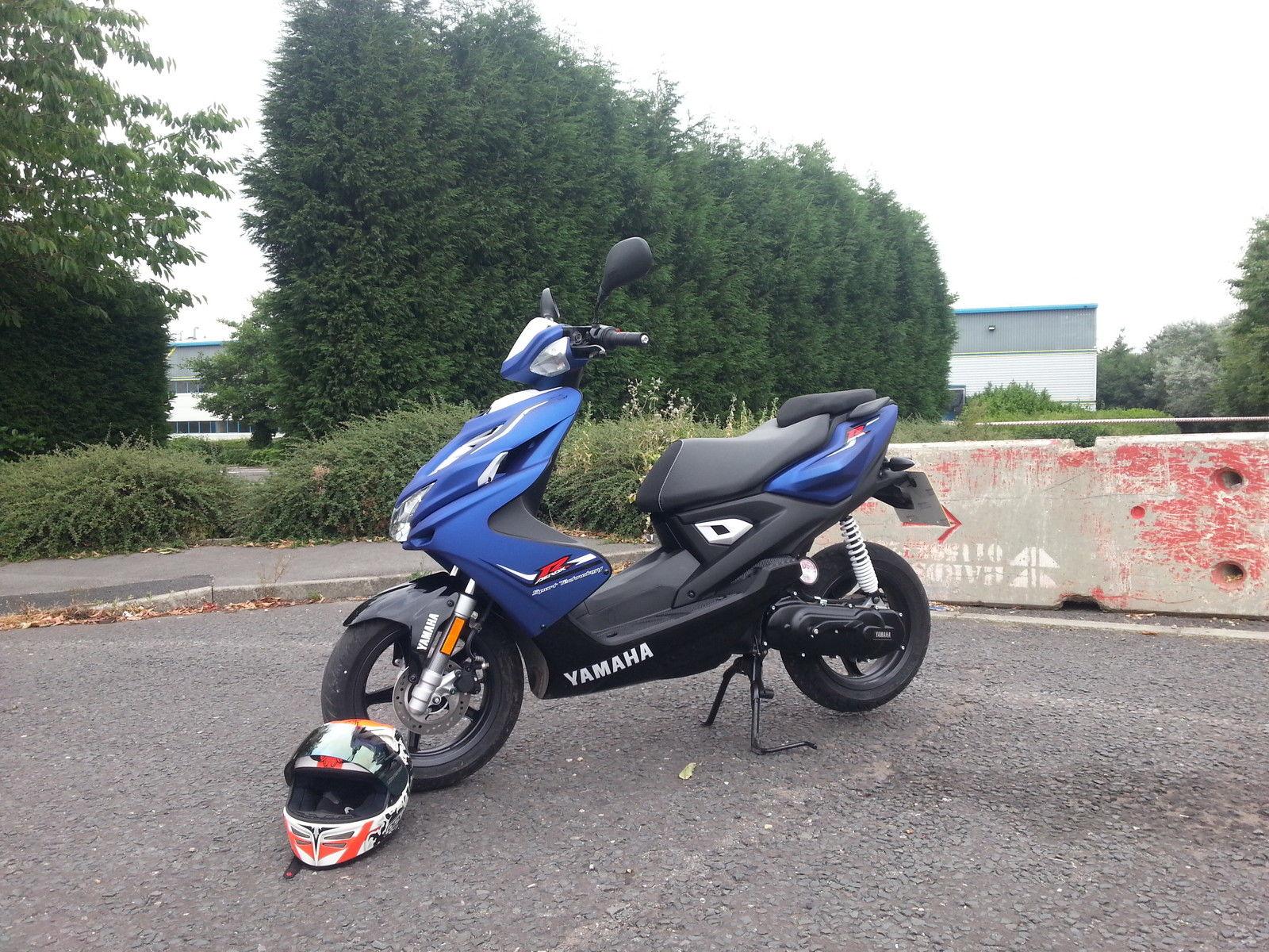 2013 YAMAHA NS 50 AEROX R BLUE Yamaha Ns