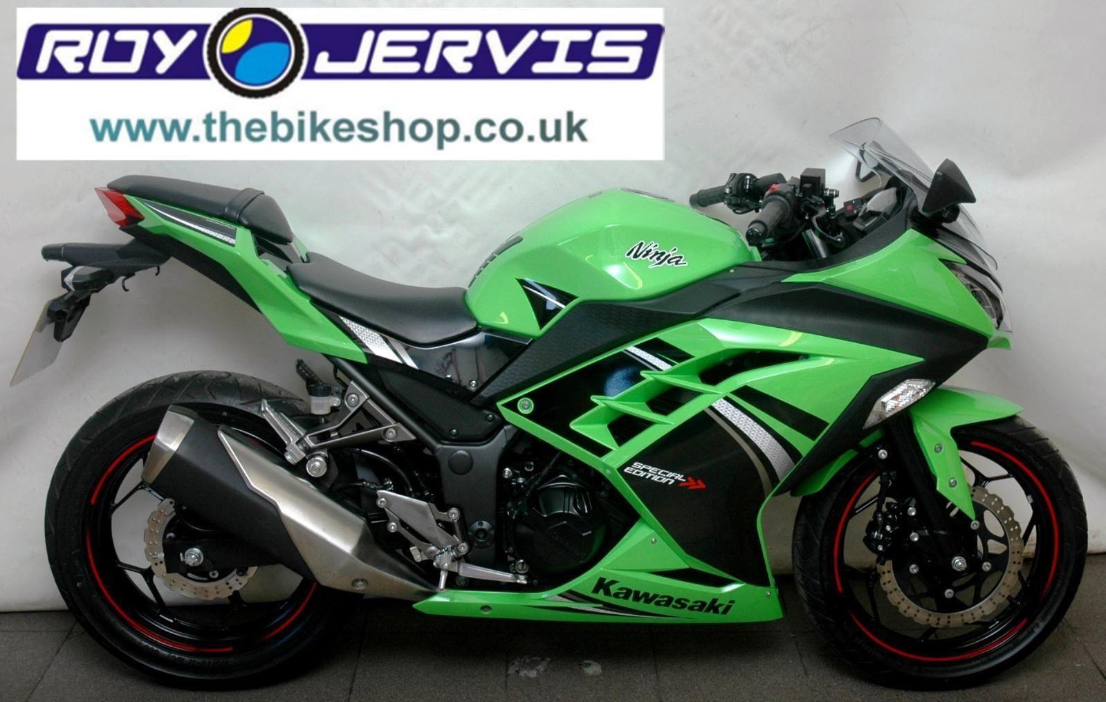 2014 14 Kawasaki 300 Ninja Ex300 Aefa Special Edition Sports