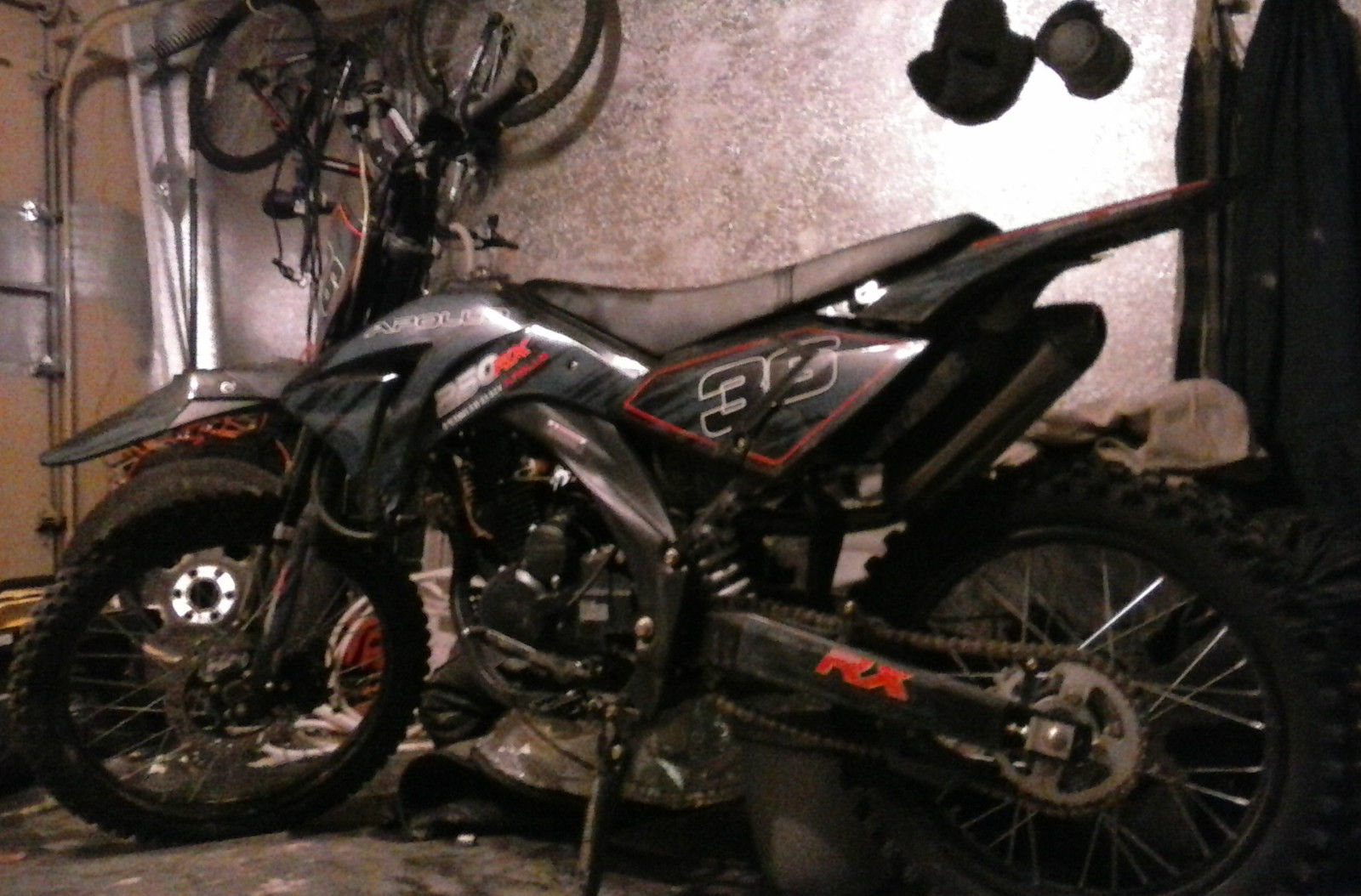 2014 Apollo 250cc Dirt Bike Motorcycle Off Road Clear Nevada Title Honda Other Makes