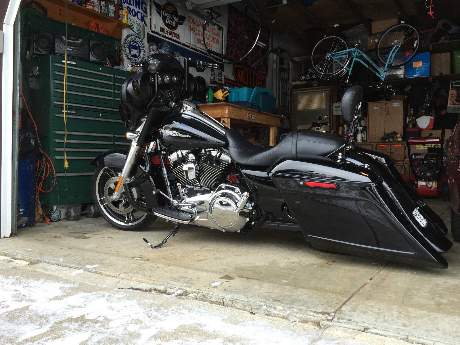 2014 Harley Davidson Custom Street Glide Flhx