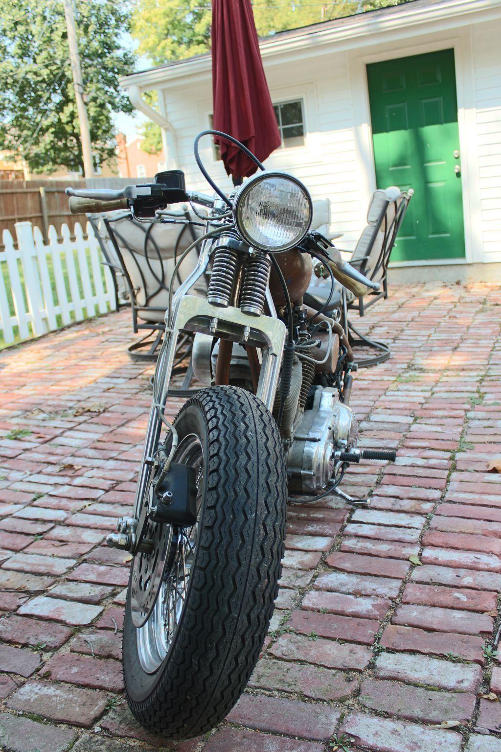 2014 Harley Davidson Fat Tired Bobber Hard Tail
