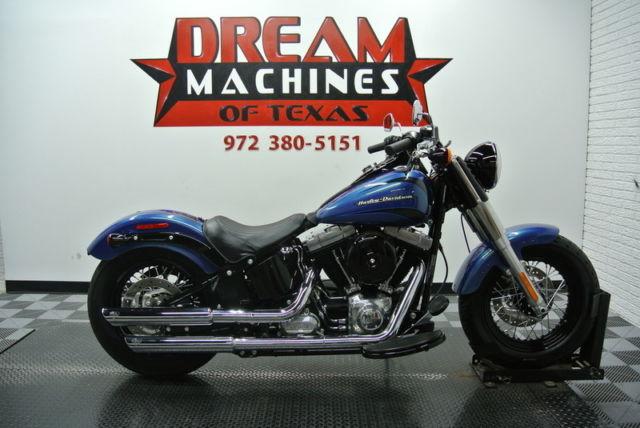 Harley Davidson Fls Softail Slim Blue Book