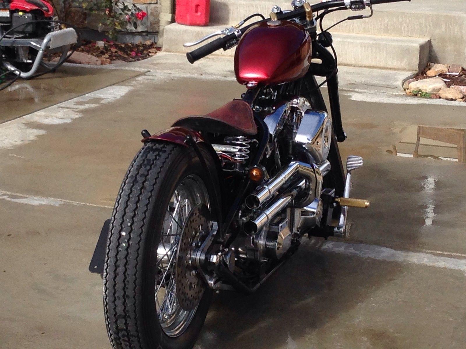2014 Harley Davidson Shovelhead Bobber **zero engineering**