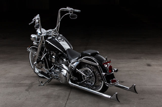 2014 Harley Softail Deluxe Full Cholo Build Just Completed