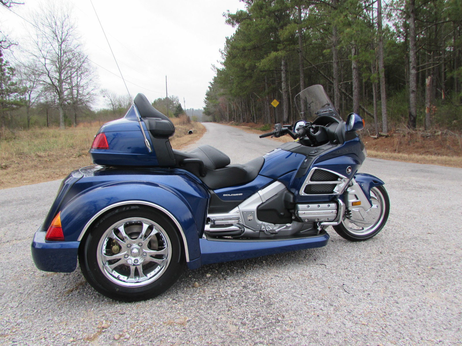 2014 HONDA GOLDWING GL1800 NEW ROADSMITH HTS1800 TRIKE ...