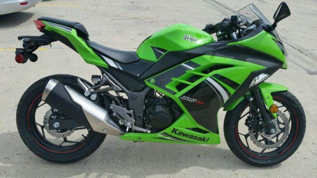 2014 Kawasaki Ninja 300 Se Abs Light Weight 6 Speed Sportbike Black