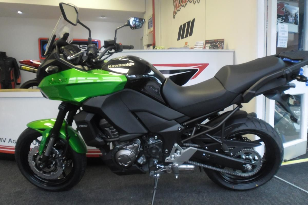2014 Kawasaki Versys 1000 0% finance and PCP deals call for details