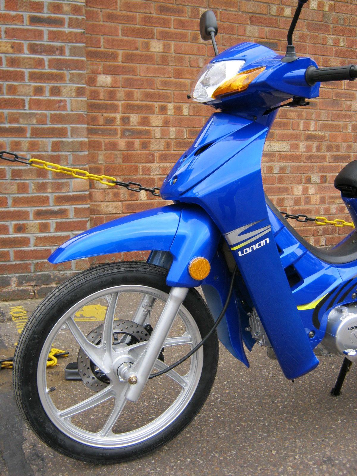 2014 Loncin Blue 110cc 4 Speed Semi Auto Amp Honda Anf 125