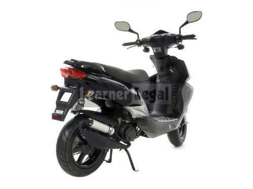 2014 longjia lj50qt k black 50cc scooter moped ped. Black Bedroom Furniture Sets. Home Design Ideas