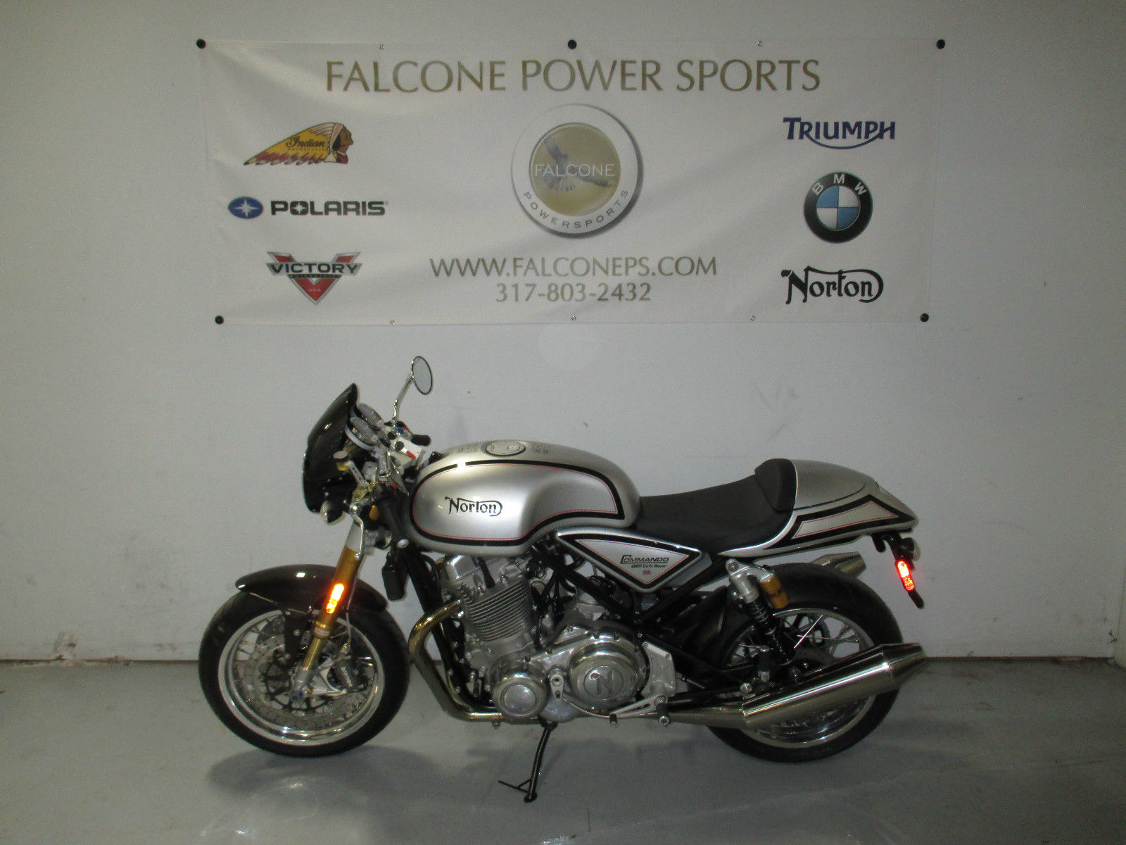 2014 Norton Commando 961 Cafe Racer