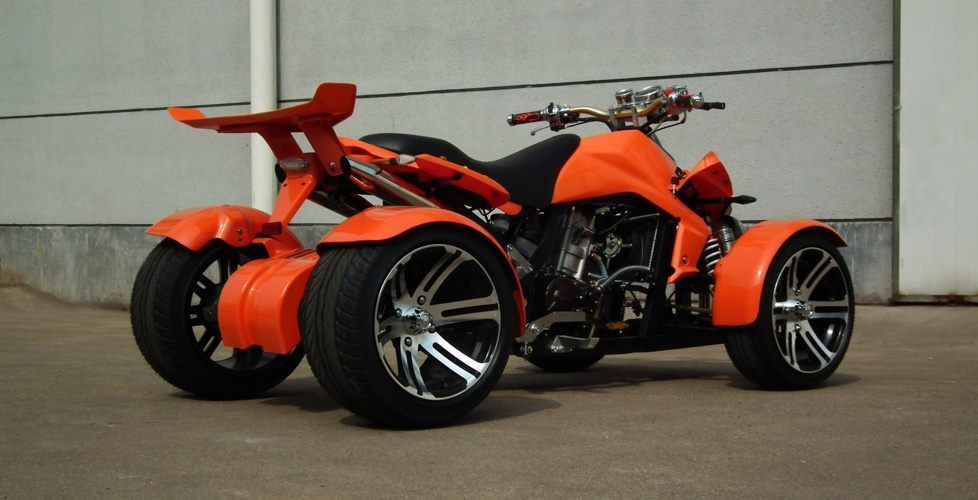 2014 Spy Racing 250cc F1 Road Legal Quad Orange Spyracing Racer Only 35 Miles