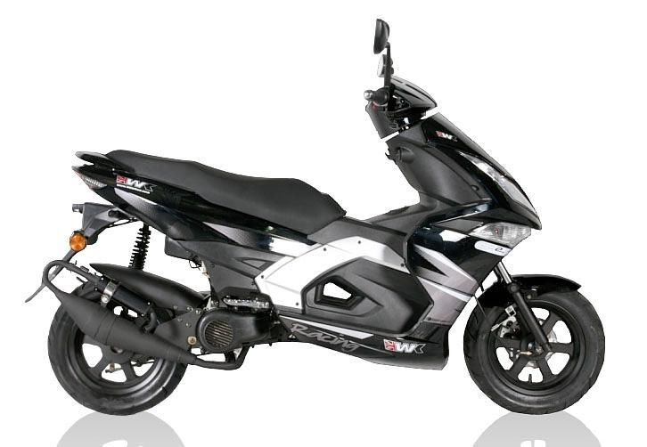 2014 WK GP2 50cc Scooter in White **BRAND NEW