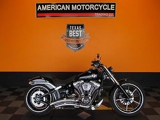 2015 Black - FXSB! Softail Breakout, Black, Vance & Hines