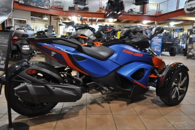 2015 Can-Am Spyder RS-S 5-Speed Manual (SM5) New