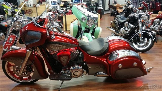 2015 Indian Chieftain 174 Dirty Bird Custom New