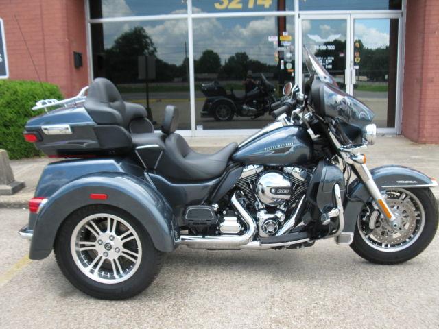 Used Harley Davidson Wheels >> 2015 Trikes Used Harley Davidson Flhtcutg Tri Glide Ultra Classic