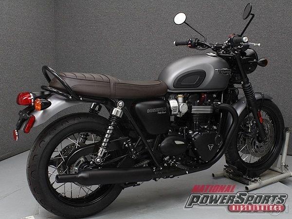 2017 Triumph Bonneville T120 Black New
