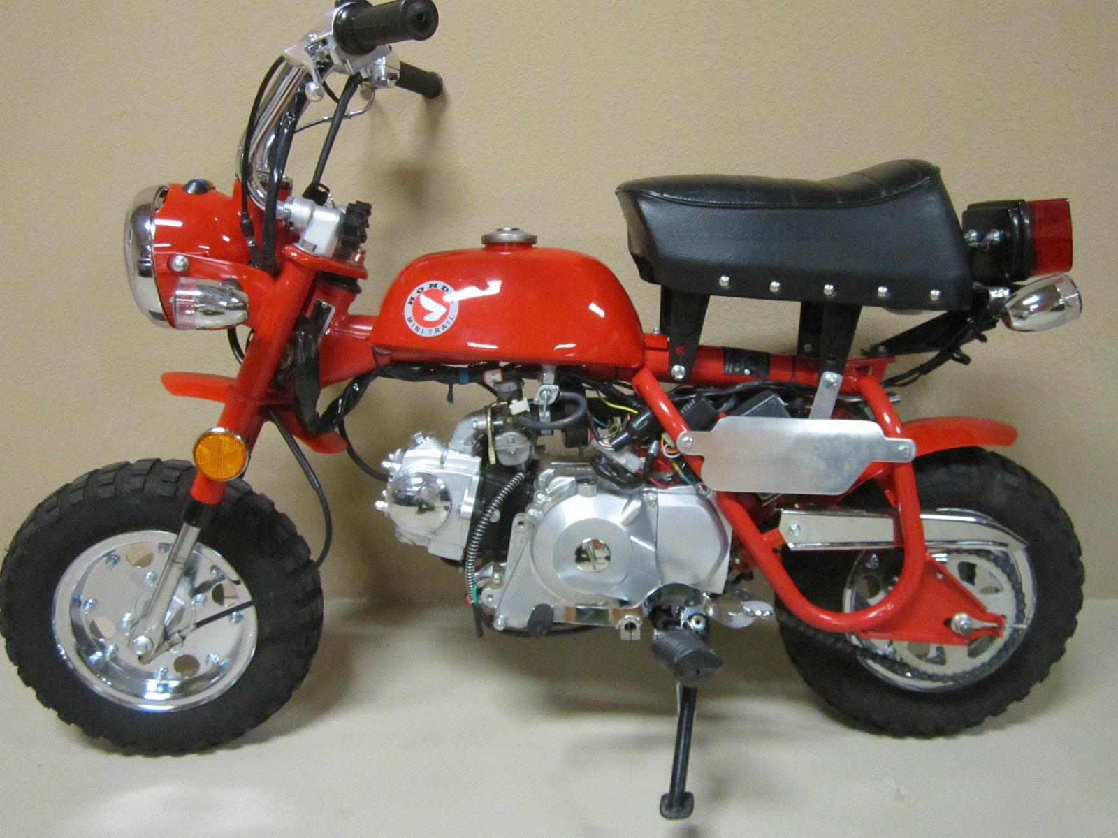 4 Speed Honda Mini Trail 91 Miles Near New Bike Motorcycle 1970 Vin Decoder Ct70 Z50 Monkey