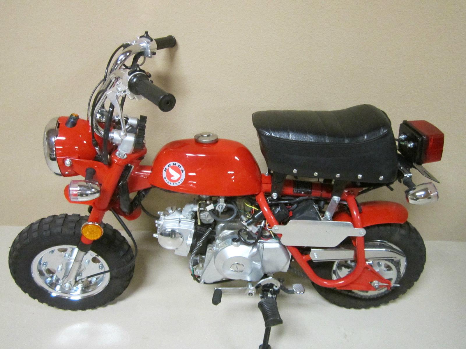 4 Speed Honda Mini Trail 91 Miles Near New Bike Motorcycle 1970 Ct70 Battery 2000 Ct