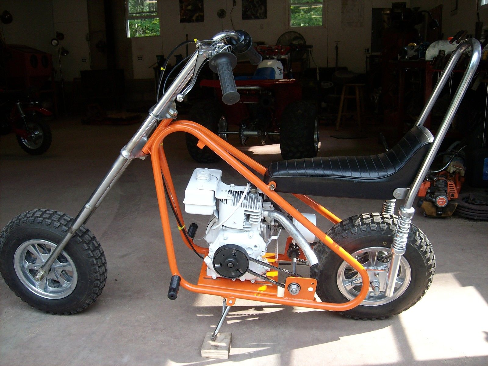 Vintage Mini Bike Chopper : The gallery for gt rupp mini bike
