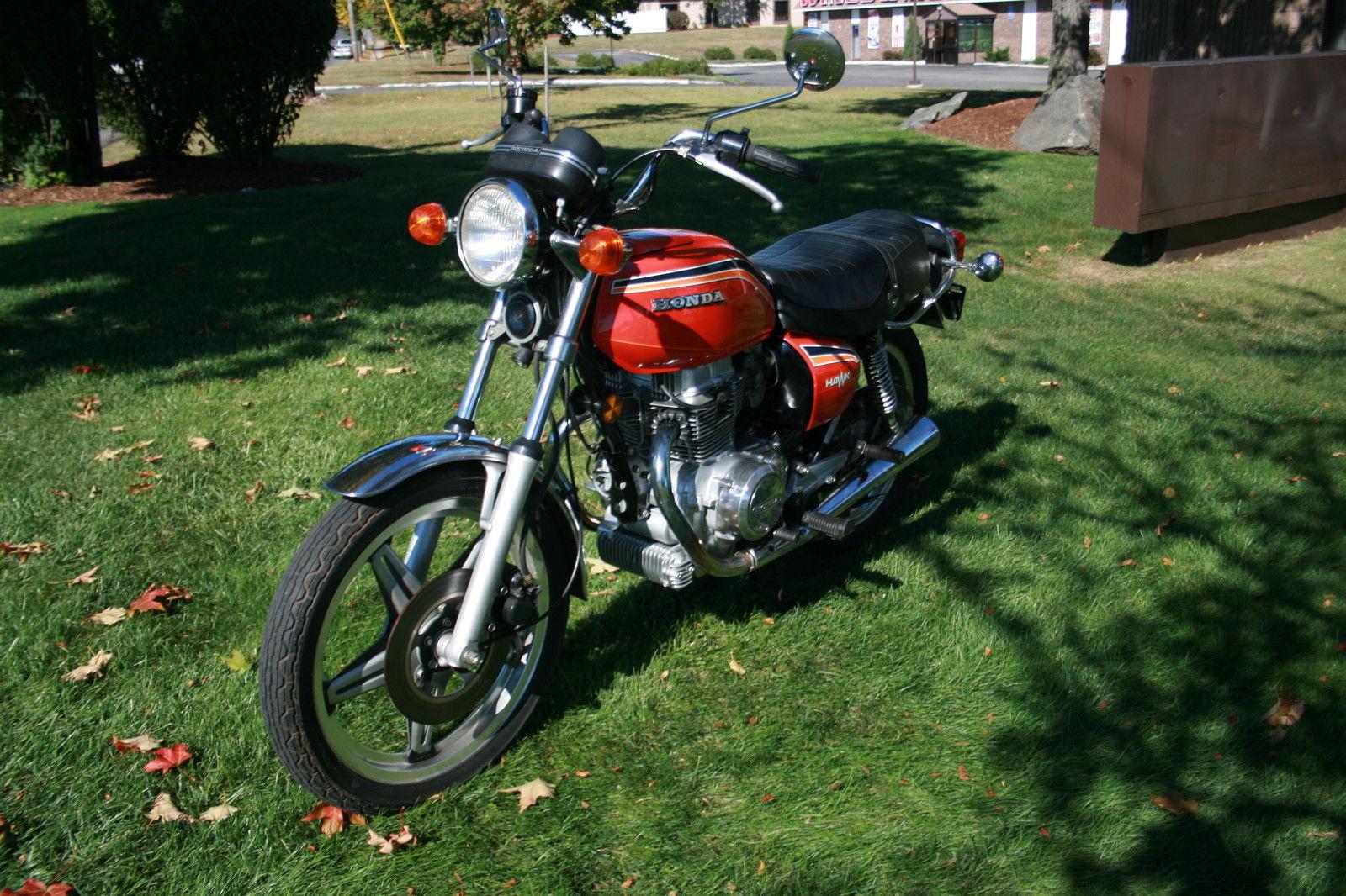 78 HONDA 400 HAWK---------- WINTER SPECIAL