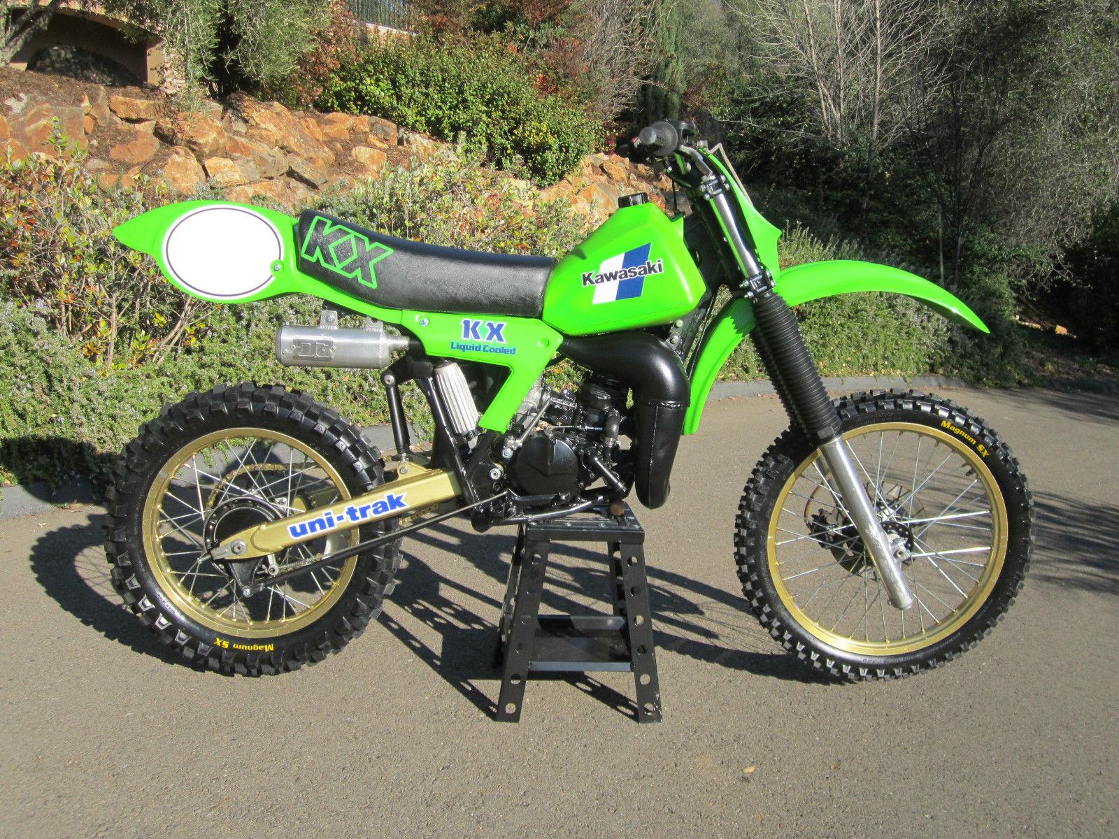 82 Kawasaki Kx125 Dirt Bike Motorcycle Ahrma Rare