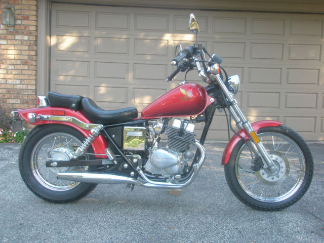 !985 Honda Rebel CMX250C