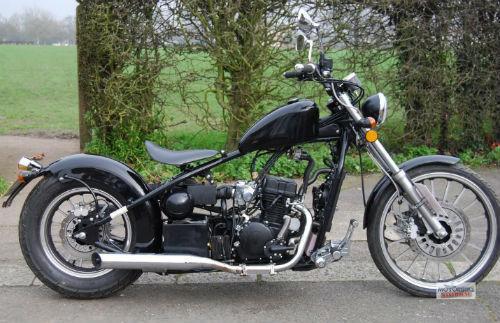 ajs bobber 125cc learner legal custom cruiser motorcycle. Black Bedroom Furniture Sets. Home Design Ideas