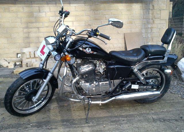 ajs dd125e mk3 regal raptor legal learner 125 motorcycle. Black Bedroom Furniture Sets. Home Design Ideas