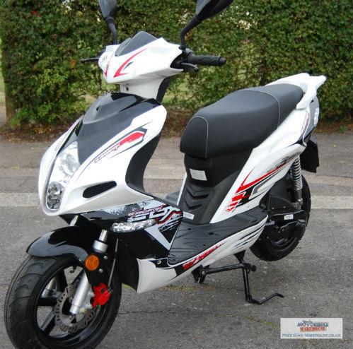 Xracer Gas Scooter 2 Two Stroke All Terrain 50cc 52cc Mini Bike Dirt Atv Fast Ebay