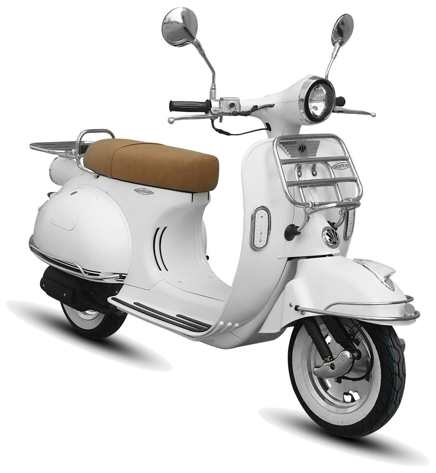 ajs modena 125 1960s vespa lambretta style scooter. Black Bedroom Furniture Sets. Home Design Ideas