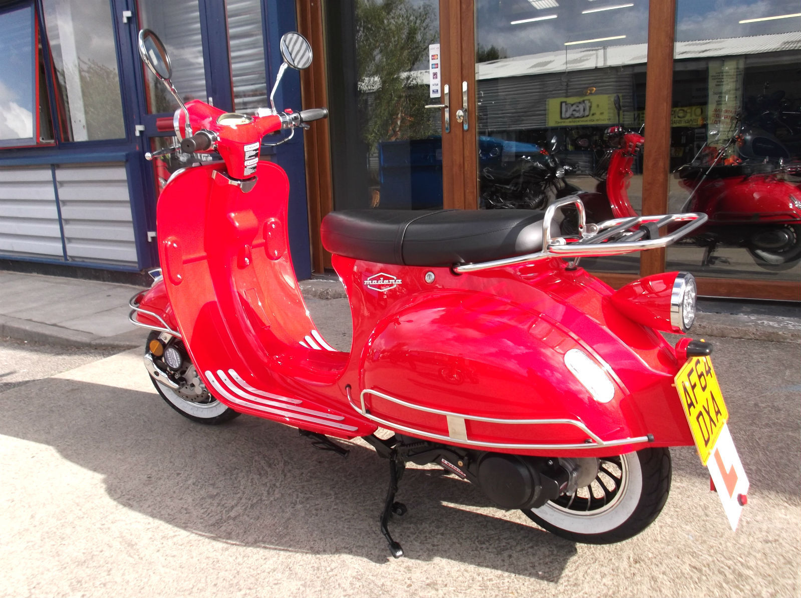 AJS Modena 125 125 - Lowest Rate Finance Around - UK Delivery