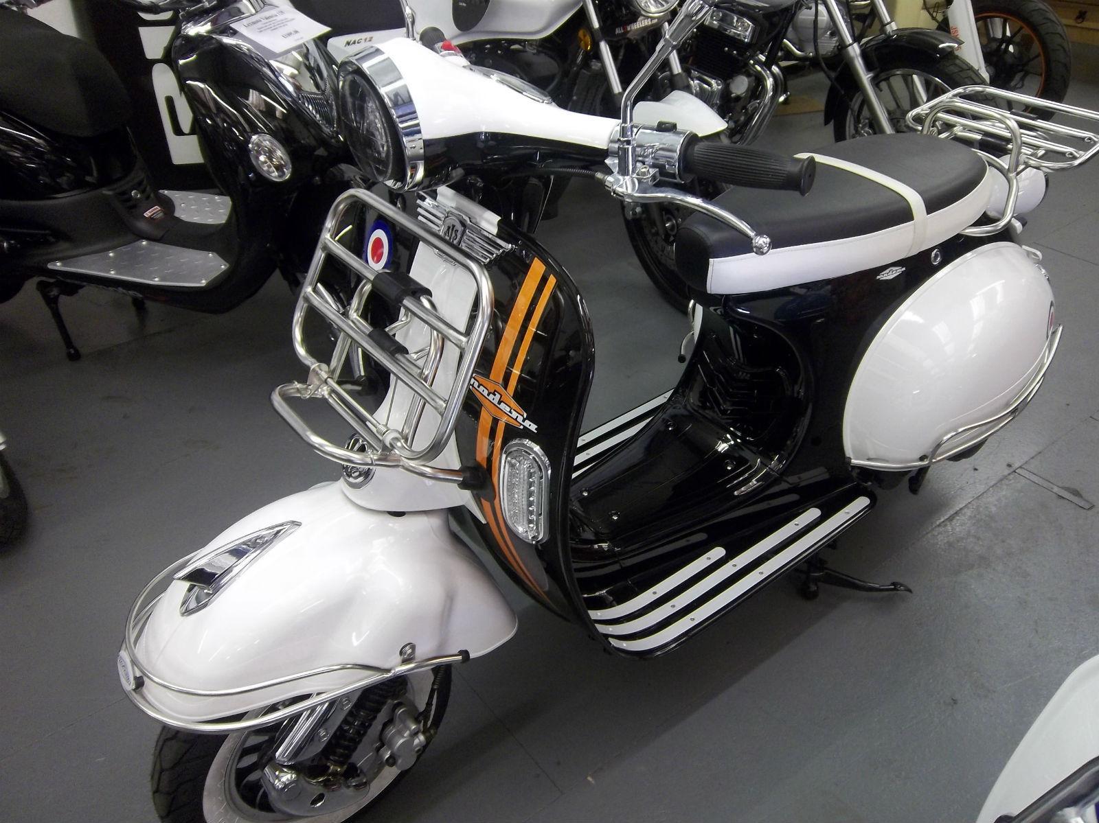 Ajs Modena 125 50 Cc Scooter Vespa T5 Px 1950 60s Body Wiring Diagram Fully Auto