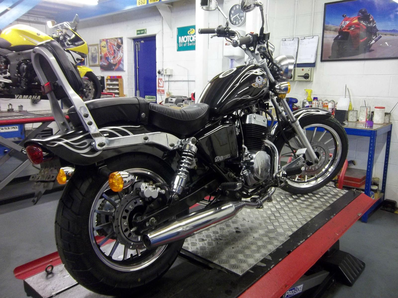 ajs motorcycle regal raptor 125 mk3 custom cruiser motorbike 125 cc bike. Black Bedroom Furniture Sets. Home Design Ideas