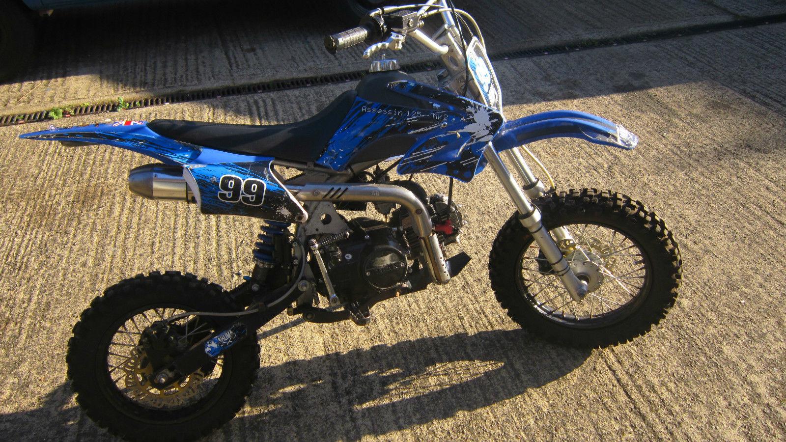 Akuma Assassin 125 Mk2 Pit Bike